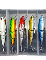 cheap -5 pcs Lure kit Fishing Lures Minnow lifelike 3D Eyes Sinking Bass Trout Pike Sea Fishing Lure Fishing Freshwater and Saltwater