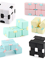 cheap -Infinity Cube Fidget Toy Stress Relieving Fidgeting Game for Kids and Adults,Cute Mini Unique Gadget for Anxiety Relief and Kill Time (Macaron)