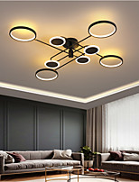 cheap -LED Ceiling Light Modern Circle Design 120cm Flush Mount Lights Metal LED Nordic Style 220-240V