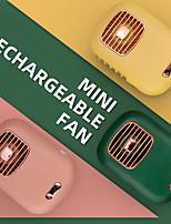 cheap -Mini Rechargeable Fan Desktop Mute Fan USB Charging Mini Portable Handheld Fan Low Noise Strong Wind