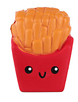 cheap -3.9 Inches Slow Rising Kawaii Scented Soft French Fries Squishies Food Toy 1 PCS Random Color