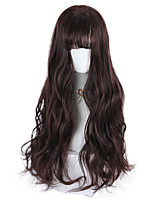 cheap -Brown Sweet Style Lolita Wig 70 inch Cosplay Wigs Other Wig Halloween Wigs