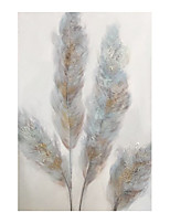 cheap -IARTS Hand Painted Light feather Oil Painting   with Stretched Frame For Home Decoration