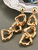 cheap -irregular metal chain earrings cross-border earrings simple personality metal earrings