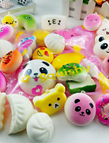 cheap -10Pcs Squishy Antistress Toys Slow Rising Funny Gadgets Kids Stress Relief Cute Squeeze Fun Toys