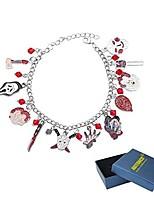 cheap -abitoncc classic horror movies characters bracelet link charm bracelet jason freddy krueger joker bracelet(epoxy)