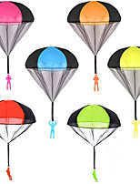 cheap -6 PCS Parachute Toy Tangle Free Throwing Toy Parachute Outdoor Children's Flying Toys Toss It Up and Watching Landing Outdoor Toys for Kids and Adults