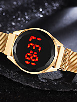 cheap -Women's Quartz Watches Digital Quartz Stylish Sparkle LED Light