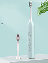 cheap -Adult Couple Smart Electric Toothbrush Vibrato Portable Five-speed USB Charging Soft Sonic Household Dental Cleaning Device
