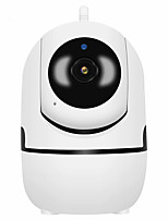 cheap -automatic tracking and rotation, wireless surveillance camera 1080p, remote viewing of family incumbent wifi network camera