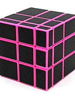 cheap -Mirror Cube 3x3x3 Magic Cube 3x3 Unequal Speed Cube Carbon Fiber Sticker Puzzle Toys Pink