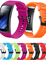 cheap -Smart Watch Band for Samsung Galaxy 1 pcs Sport Band Silicone Replacement  Wrist Strap for Samsung Gear Fit 2 PRO