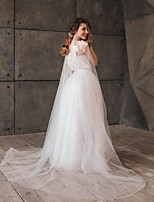 cheap -Sleeveless Bridal / Sweet Tulle Wedding / Wedding Party Women's Wrap With Appliques