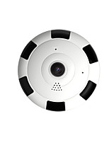 cheap -Free Shipping 1080p Hd Mini 360 Degree Panoramic Wifi Wireless Ip Camera Fisheye Night Vision Cámara panorámica inalámbrica