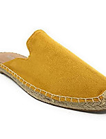 cheap -Women's Sandals Flat Heel Round Toe PU Color Block Wine Light Brown Black