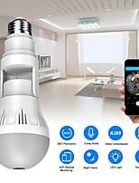 cheap -HD Wifi Camera Panorama VR 360 Degree Panoramic Universal Light Bulb Camera V380 wireless Wifi Network Monitor