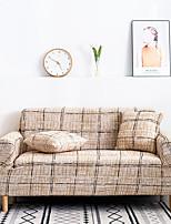 cheap -1 Pc Brown Spots Sofa Cover Elastic Sofa Cover To Living Room Pet Sofa Dust Cover Recliner Sofa Cover