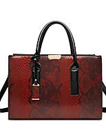 cheap -Women's Bags Satchel Top Handle Bag Date Office & Career 2021 Handbags Black Red Brown