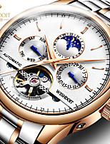 cheap -automatic waterproof mechanical watches luminous men's watches