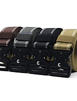 cheap -Belt Men's Military Tactical Belt Wearable Breathable Protective for Solid Colored Nylon Fall Spring Summer