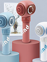 cheap -Mini Portable Desktop Fan with Humidifier Light Handheld Electric USB rechargeable fan Appliances Desktop Air Cooler Outdoor Travel hand fan