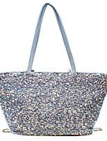 cheap -Women's Bags Tote Top Handle Bag Date Office & Career 2021 Handbags Black Blue Silver