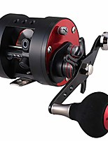 cheap -trolling reel gla200 gla300 black red casting sea fishing saltwater baitcasting (gla300, right)