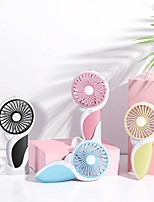 cheap -2021 new usb rechargeable woodpecker fan outdoor portable ultra-thin handheld mini cartoon pocket fan