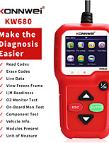 cheap -konnwei kw680 car fault diagnostic scanner, trip computer, trip computer, car obd