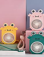 cheap -Cartoon Handheld Mini Cute Fan for Children Lovely Frog Fan Portable Hand Held Desk Fan Outdoors