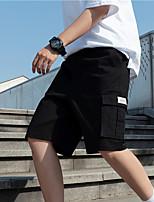 "cheap -Men's Hiking Shorts Hiking Cargo Shorts Summer Outdoor 12"" Ripstop Quick Dry Multi Pockets Breathable Cotton Knee Length Bottoms Army Green Black Khaki Work Hunting Fishing M L XL XXL XXXL"