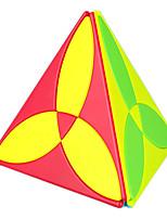 cheap -QiYi Clover Pyramid Magic Cube 3 Leaf Tetrahedron Puzzle Cubo Magico Educational Toys Stickerless