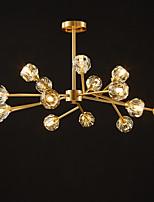 cheap -6-Light 9-Light 65/80/90/100 cm Lantern Desgin Chandelier Copper Metal Sputnik Empire Brass Artistic Modern 110-240 V
