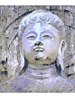 cheap -IARTS Hand Painted Living Buddha Oil Painting   with Stretched Frame For Home Decoration