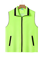 cheap -Women's Men's Hiking Fishing Vest Work Vest Outdoor Casual Lightweight with Multi Pockets Autumn/Fall Spring Summer Travel Cargo Safari Photo Wear Resistance Breathable Waistcoat Jacket Coat Top