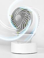 cheap -Desktop USB Fan 360 Degree Rotation Natural Wind Automatic Shaking Head Rotating Wind Hood Fan Charging Fan