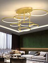 cheap -LED Pendant Light 100 cm Single Design Pendant Light Metal LED Nordic Style 220-240V