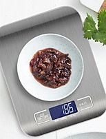cheap -5kg Kitchen Scale Stainless Steel Weighing Scale Food Diet Postal Balance Measuring LCD Electronic Scales