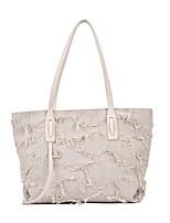 cheap -Women's Bags Tote Top Handle Bag Date Office & Career 2021 Handbags White Black Gray