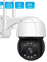 cheap -5mp wifi ptz camera h.265 3mp 4x digital zoom human detection ptz ip camera outdoor 2mp auto tracking onvif wireless ip camera
