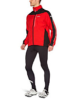 cheap -gore bike wear men's countdown gt gore-tex jacket, red/black, small