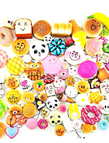 cheap -30 Pcs Kawaii Squishy Food Slow Rising Mini Soft Random Squishy Squishies Toys Cake Bread Squeeze Pressure Relief Toy