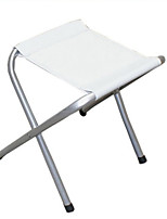 cheap -Camping Stool Portable Ultra Light (UL) Multifunctional Foldable Aluminum Alloy for 1 person Fishing Beach Camping Traveling Autumn / Fall Winter White / Breathable / Comfortable