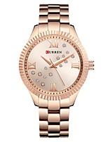 cheap -CURREN Women's Quartz Watches Analog Quartz Stylish Fashion Creative Large Dial / Japanese