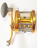 cheap -ming yang cl70a left handed baitcasting fishing reel 2 bb offshore fishing trolling reel (gold)