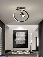 cheap -LED Mini Ceiling Light Porch Light Corridor Light With Spotlight 25 cm Cluster Design Circle Design Flush Mount Lights Metal Modern Style Metal Stylish Painted Finishes 110-240 V