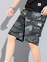 """cheap -Men's Hiking Shorts Hiking Cargo Shorts Military Camo Summer Outdoor 12"""" Ripstop Quick Dry Multi Pockets Breathable Cotton Knee Length Bottoms Army Green Grey Orange Khaki Light Green Work Hunting"""