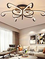 cheap -LED Ceiling Light Black 65 cm Geometric Shapes Flush Mount Lights Aluminum Artistic Style Stylish Painted Finishes Artistic LED 220-240V