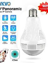 cheap -icsee hd 360° panoramic wifi 1080p ip camera light bulb home security video camera wireless cctv surveillance fisheye network