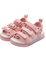 cheap -Unisex Boots LED Shoes Knit Light Up Shoes Big Kids(7years +) Daily Walking Shoes Button Black Pink Summer / Booties / Ankle Boots